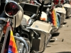 Harley-Davidson of the Bolivian Presidential Escort