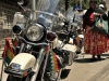 A Harley-Davidson of the Bolivian Presidential Escort