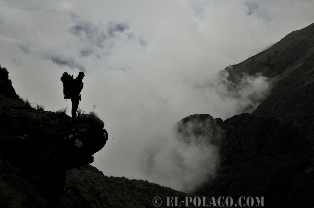 Hiking among the clouds