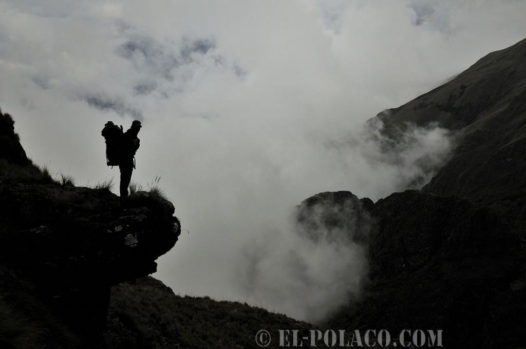 Wandern in den Wolken